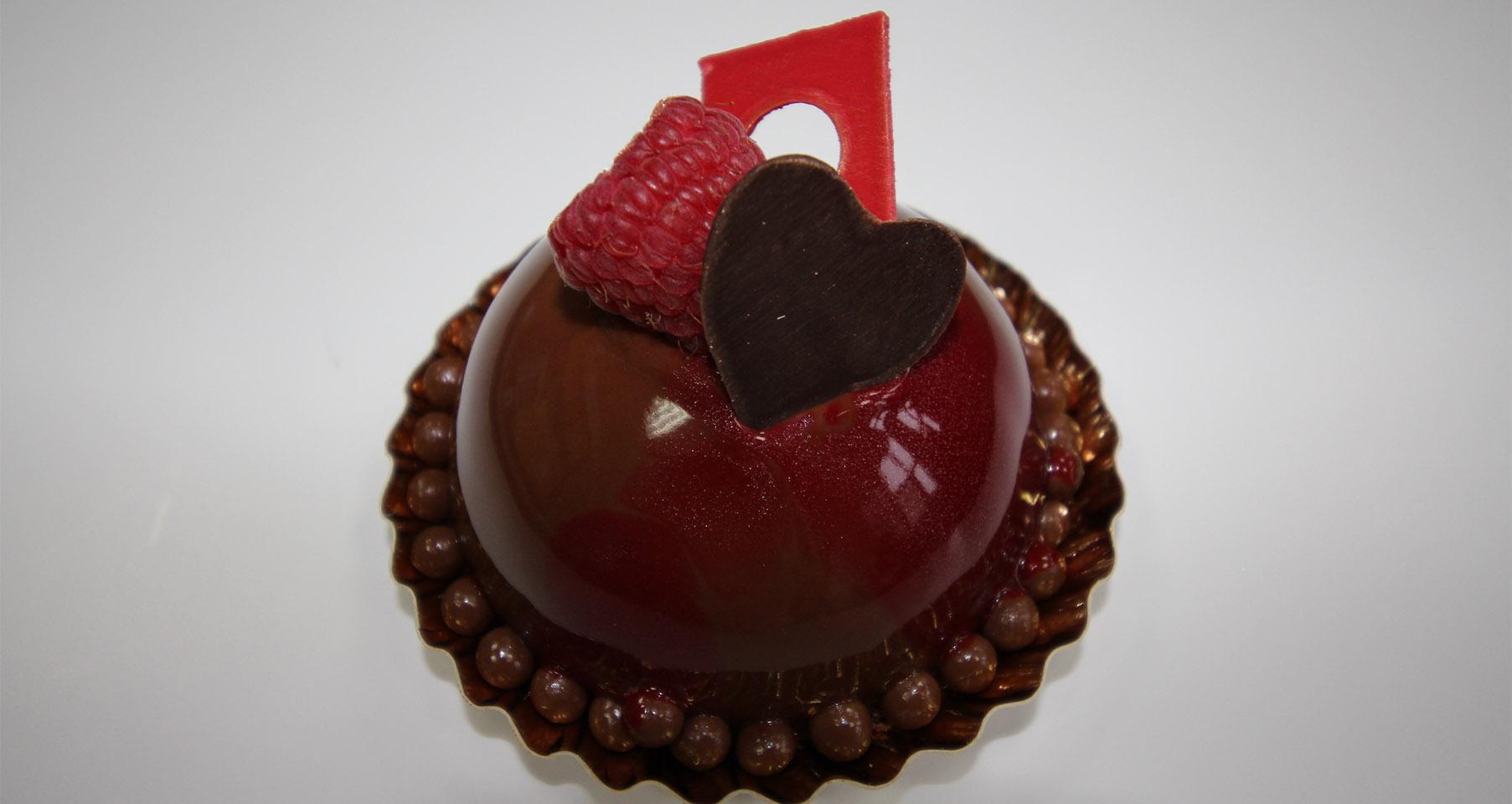 TENTATION, le gâteau de la Saint-Valentin de la Fédération des Pâtissiers Hauts-de-France