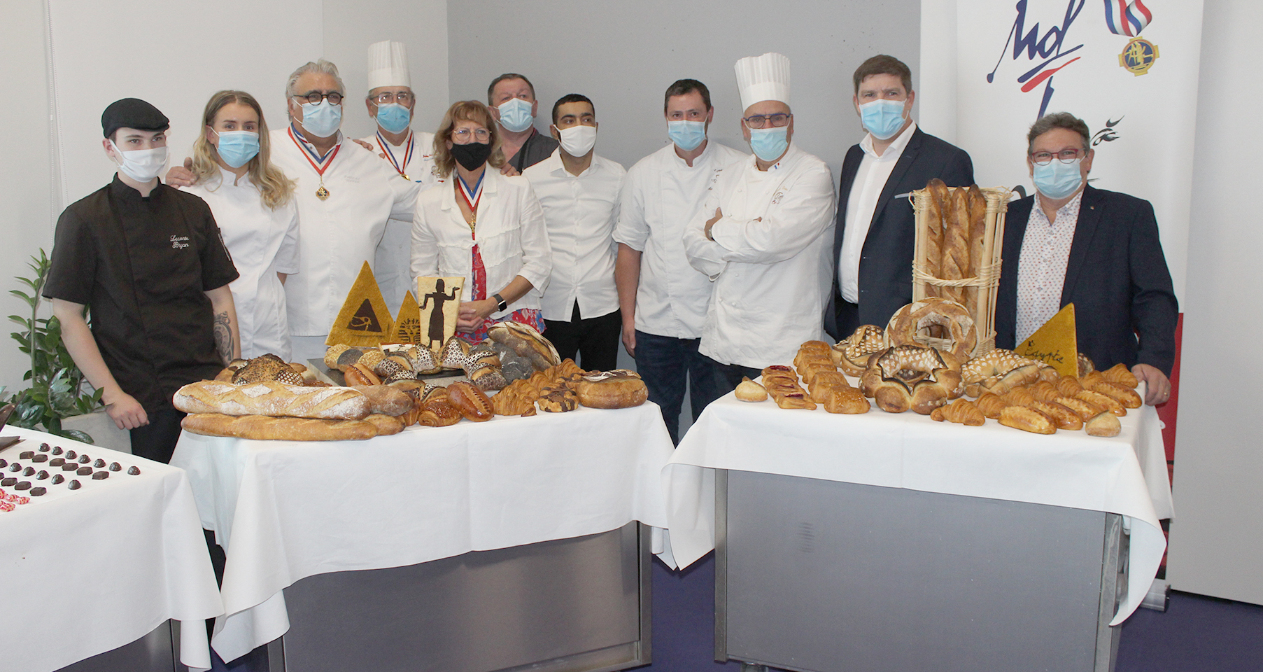 Les apprentis en mode concours au Centre de Formation des Apprentis de Saint-Saulve