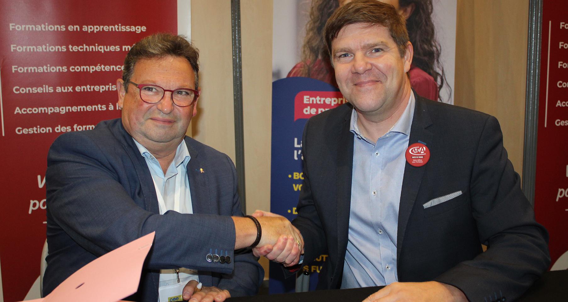 Convention de partenariat entre la Fédération régionale des Boulangers/Pâtissiers et la Chambre des Métiers et de l'Artisanat des Hauts de France
